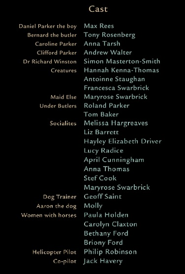 Cast of Out of the Shadows